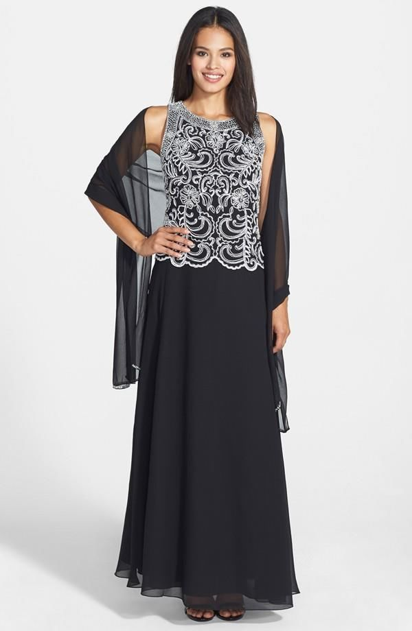 j kara long dresses by african
