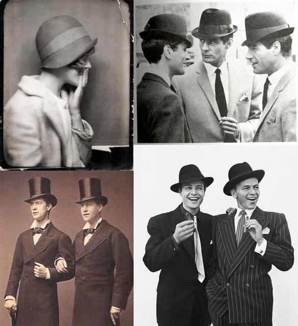 hats ☮Classic Hats, 1920S Men Hair, Men Stuff, Classic Sinatra, Hats Style, Hats Hats And, Fedoras Men Vintage Style, Vintage Hats, Frank Sinatra