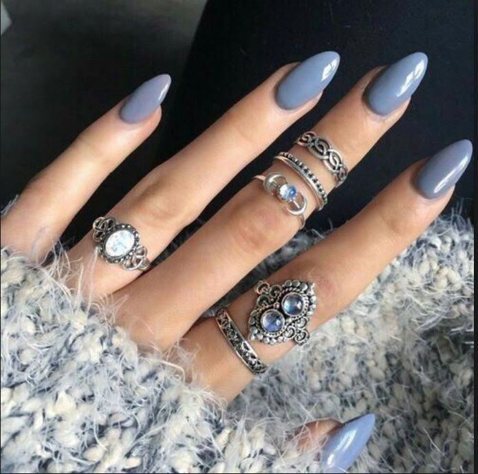 Ich liebe diese Nägel #almondacrylicnails wirklich