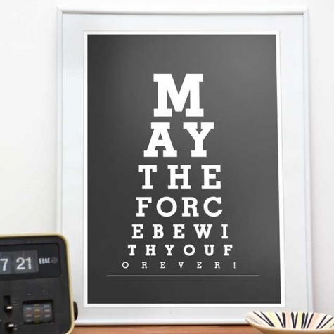 May the force be with you forever