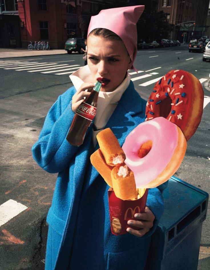 FEEDING MY FASHION | Bregje Heinen | Cedric Buchet #photography | Vogue Japan December 2012 #mixed_media #collage