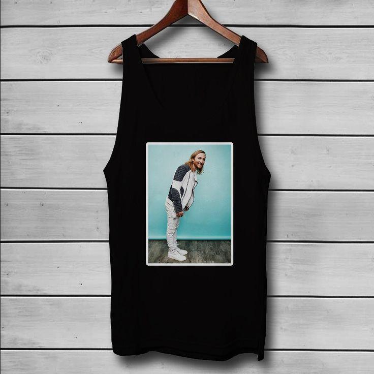David Guetta Custom Tank Top T-Shirt Men and Woman