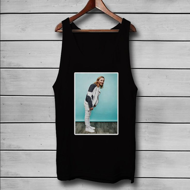 David Guetta Custom Tank Top T-Shirt Men and Woman
