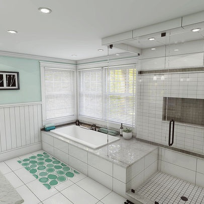 tub shower combo design ideas pictures remodel and decor page 11