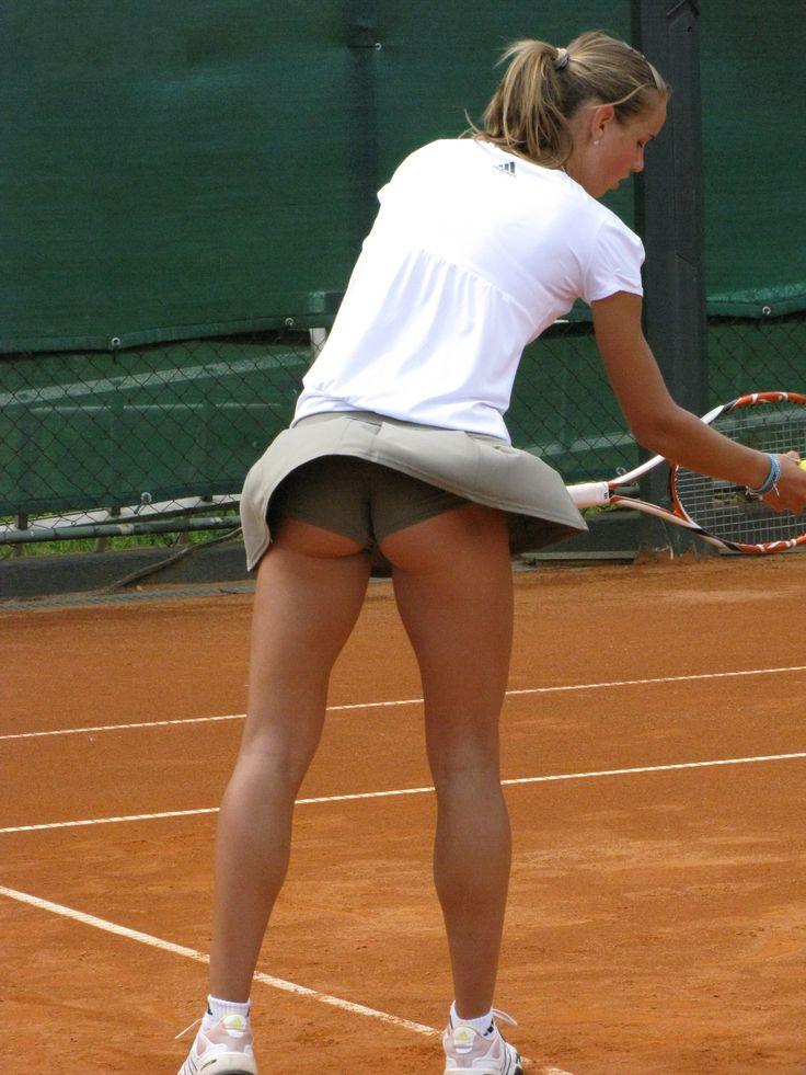 Candid upskirt tennis galleries