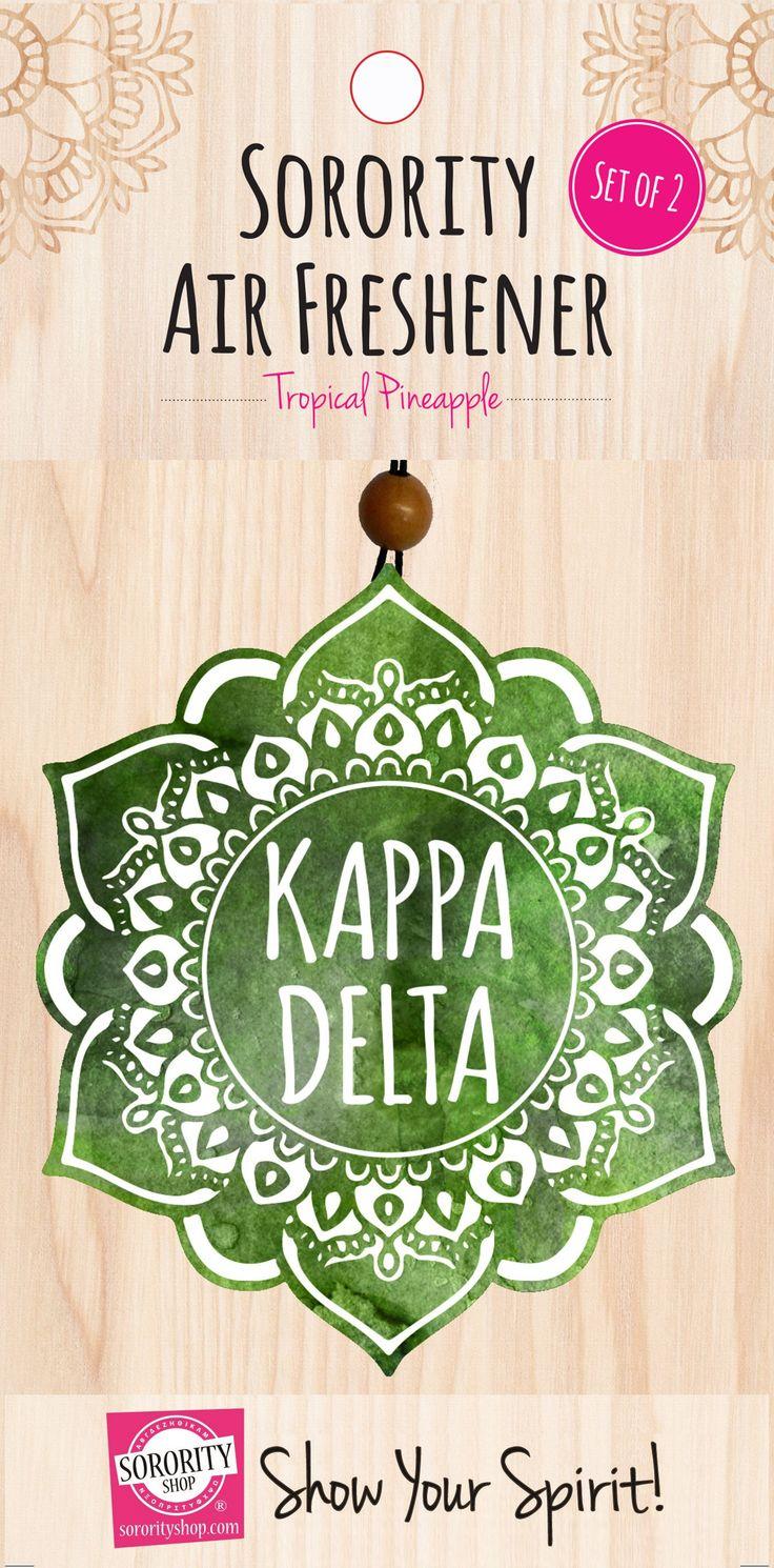 Kappa Delta Mandala Air Freshener 2/Package