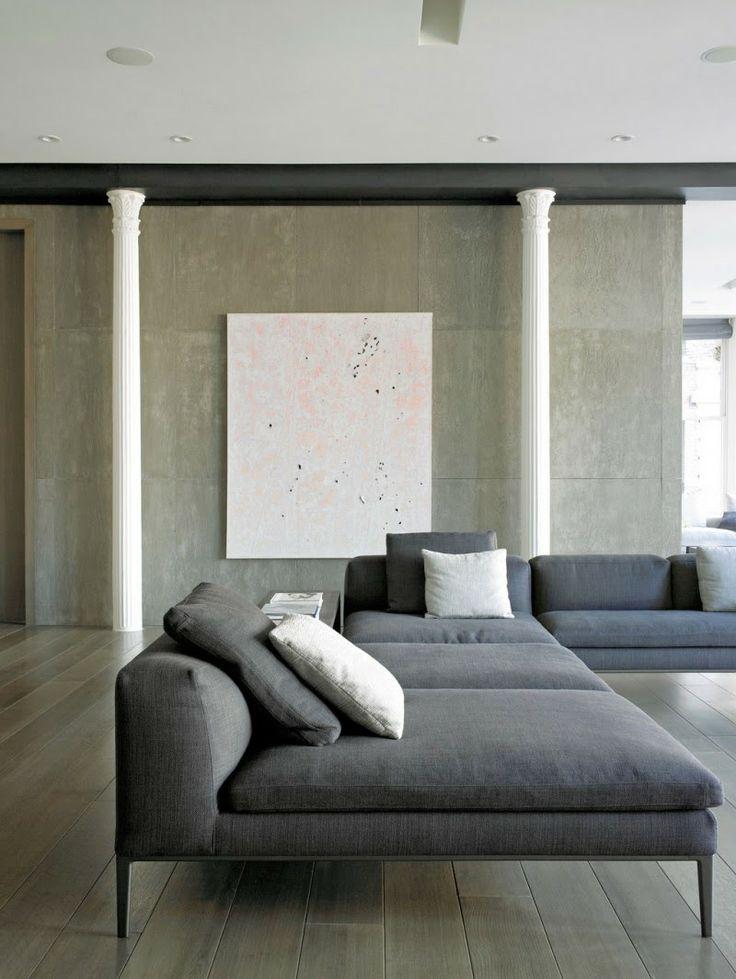 — Antonio Citterio for B&B Italia amazing wide sofa