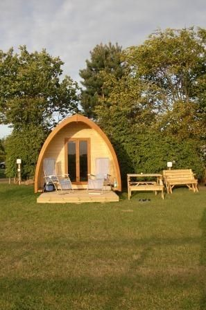 Glamp it up at in a cosy camping pod at this countryside site located near to Richmond and the gorgeous Yorkshire Dales national park
