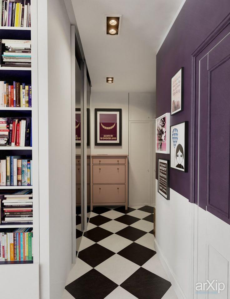 ИНТЕРЬЕР AG (коридор+прачечная) интерьер, назначение - квартира, дом | тип - коридор | площадь - 0 - 10 м2 | стиль - эклектика. Разместил INT2architecture на портале arXip.com