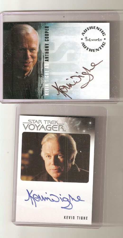 Emergency 51 star You Get 2 Kevin Tighe autograph Star Trek & Lost card