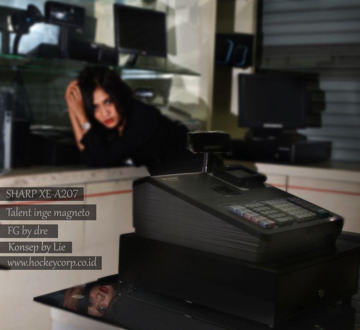Black Sharp edition mesin kasir information http://www.mesinkasir.co.in