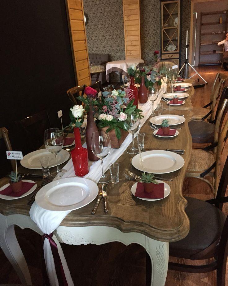 Стол гостей марсала, Букет невесты, бохо-букет, бохо свадьба, марсала, Marsala, boho wedding, Marsala wedding, bouquet bride, bride