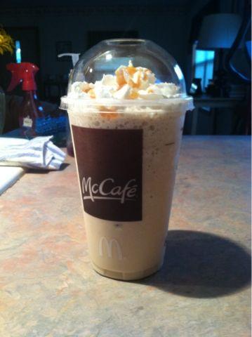 Homemade McDonalds Carmel Frappe Recipe!!!!