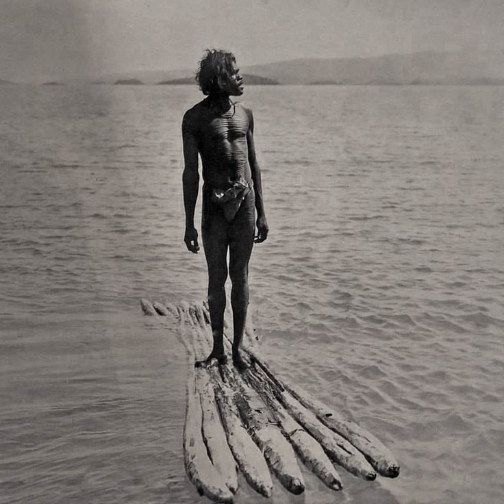 Worrorra man from the North West Coast, 1916
