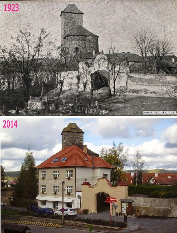 Přehled srovnávacích fotek: TÝNEC NAD SÁZAVOU (Středočeský kraj)