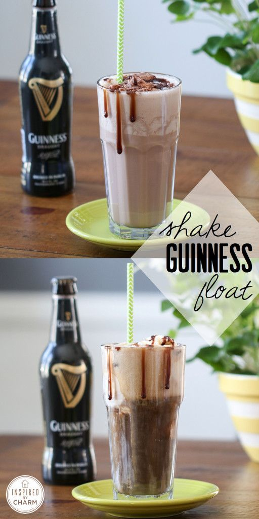 St. Patrick's Day Guiness Float