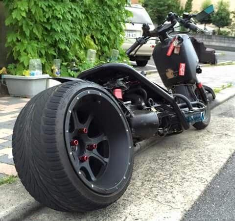 Big wheel ruckus