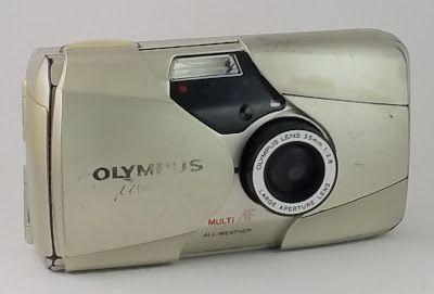 As Minhas Câmaras: Olympus mju II (1997-1998)