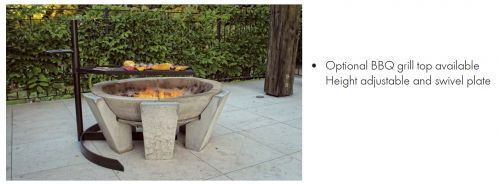 Fogata Outdoor Fire Pit with optional Grill - Turfrey NZ