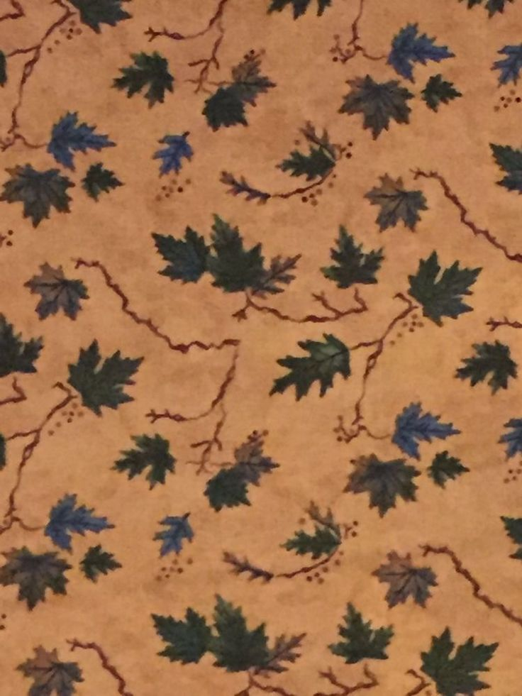 MODA River Journey fall leaves image 100% cotton fabric by the yard buckskin tan #ModaFabrics