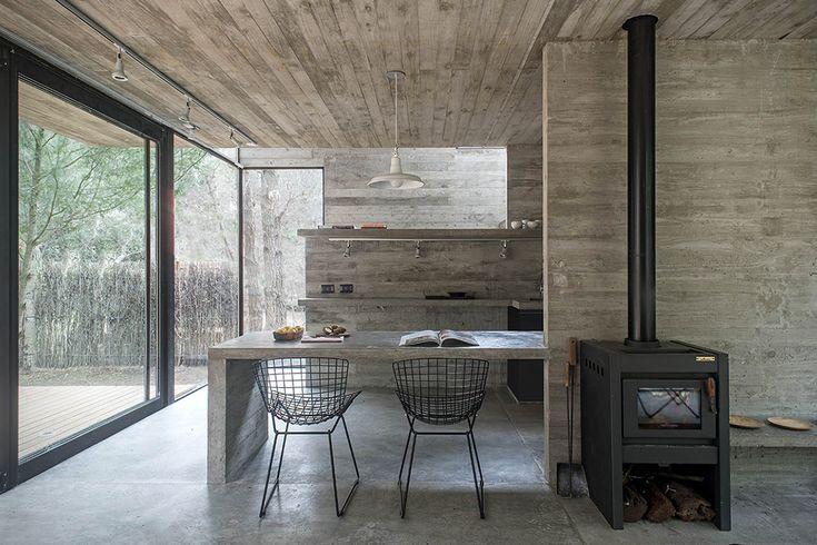 H3 House By Luciano Kruk 3. Container HäuserArchitekturdesignZeitgenössische  ArchitekturBeton ArchitekturModerne EinrichtungStrand ...