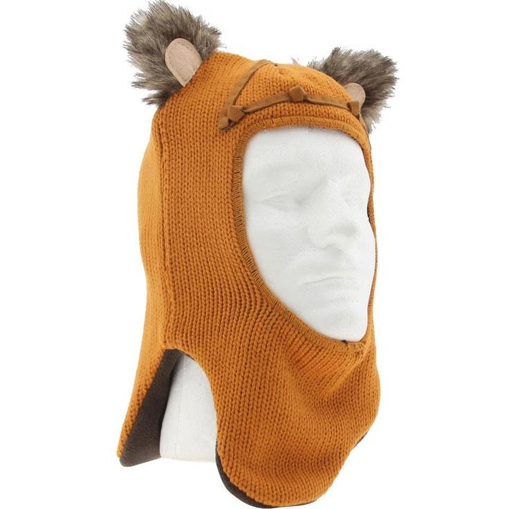 Star Wars Wicket Ewok Fleece Beanie (orange) WICKETBEANIEORG - $27.99