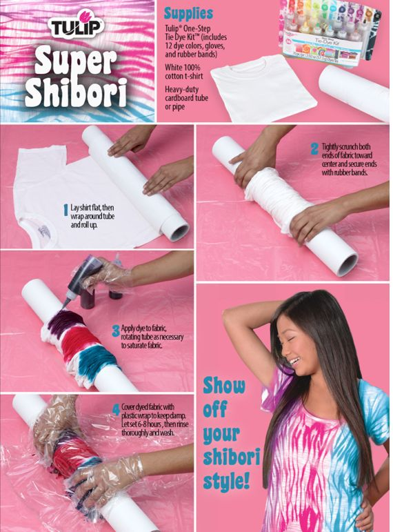 Shibori is a technique used to dye clothing with several methods like stitching, twisting, compressing,…