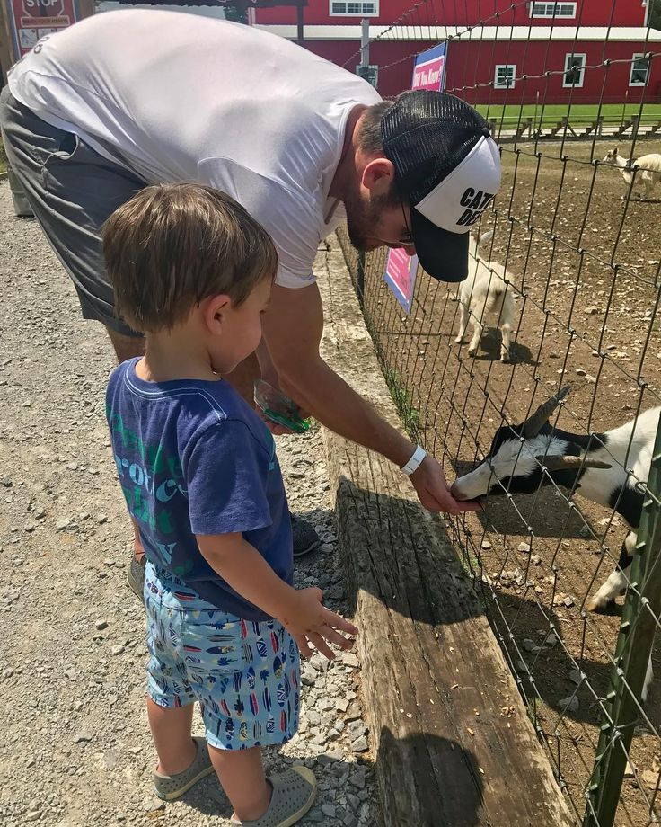 """45.3k Likes, 167 Comments - Carrie Underwood (@carrieunderwood) on Instagram: """"Love these farm boys!!! We went out to #LuckyLaddFarms today! What a sweet place...Isaiah had a…"""""""