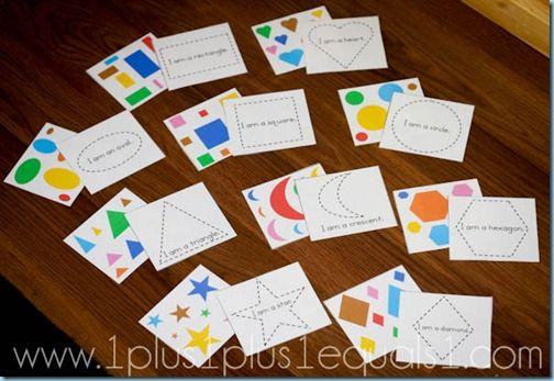 Preschool Printables ~ Shape Tracers: Preschool Themed, Preschool Shapes, Shapes Printables, Preschool Printables, Shapes Tracer, Activities Bags, Free Printables, Shapes Activities, Printables Card