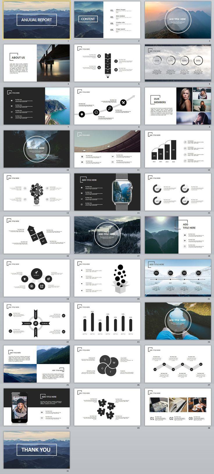 """查看我的 @Behance 项目:""""31+ creative annual Swot report PowerPoint template""""https://www.behance.net/gallery/63708585/31-creative-annual-Swot-report-PowerPoint-template"""