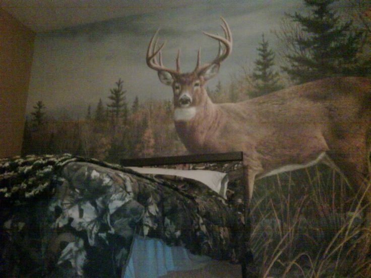 "hunting bedroom | Thread: Son wanted a ""Hunting"" bedroom"