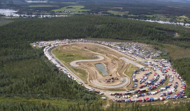 The+legendary+track+on+Kittisvaara+in+Pello+in+Lapland