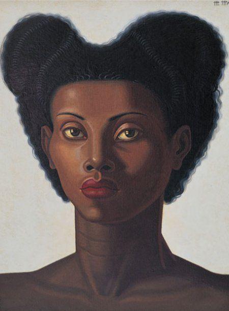 Cabeza de negra (1946), de Maruja Mallo