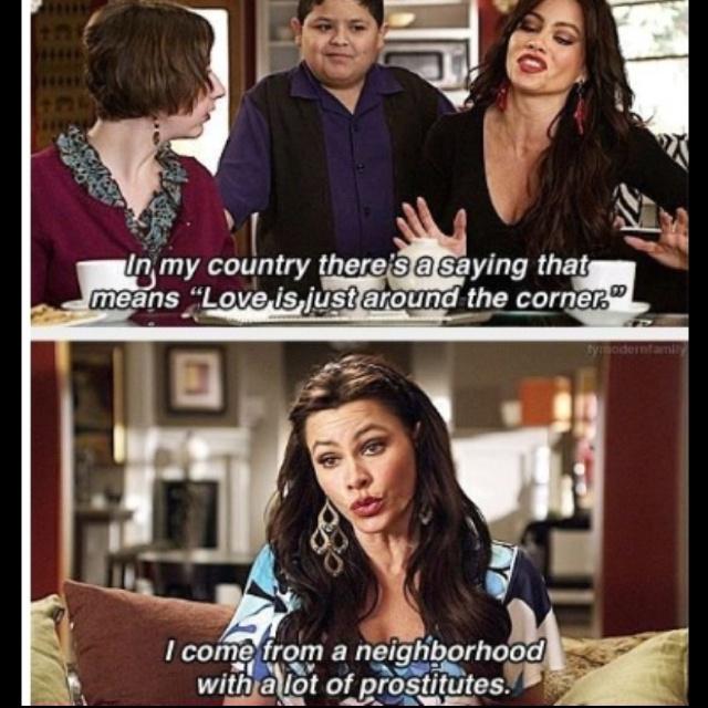 #tvshows tvseries ModernFamily sofiavergara love lol funny pic