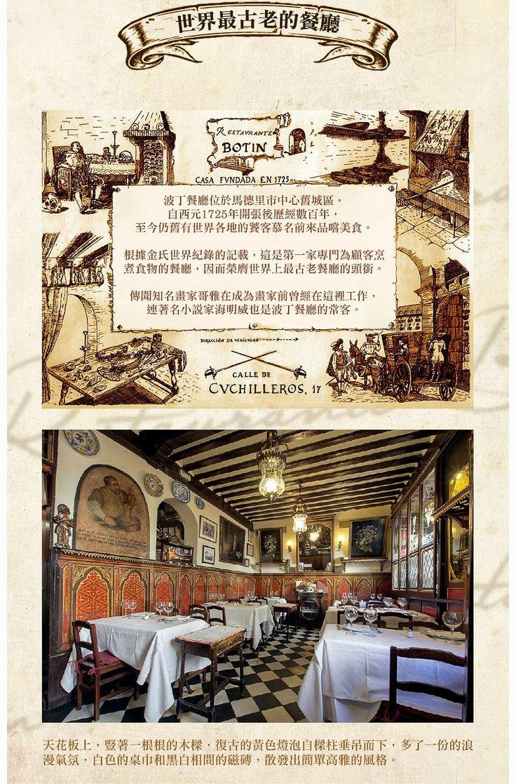 世界最古老的餐廳在西班牙