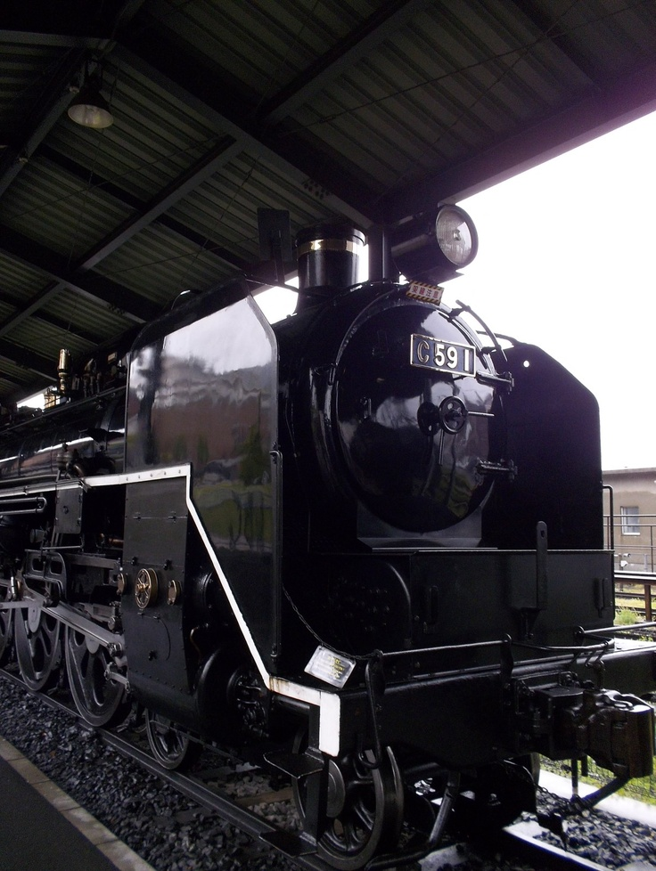 Type C59 Steam Locomotive, in Kyushu Railway Memorial Park