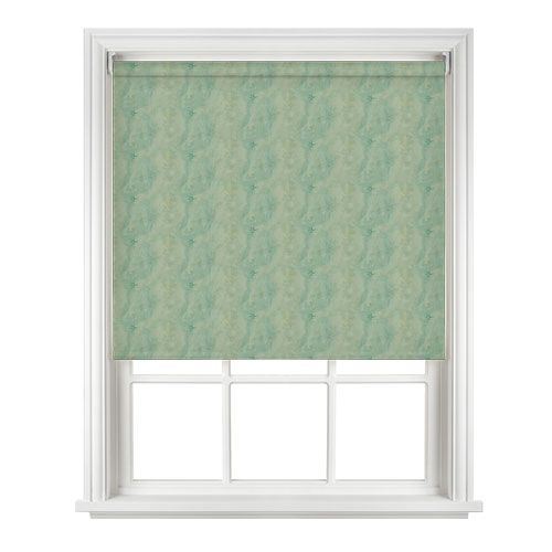 Decorshade Aboa Green Roller Blind