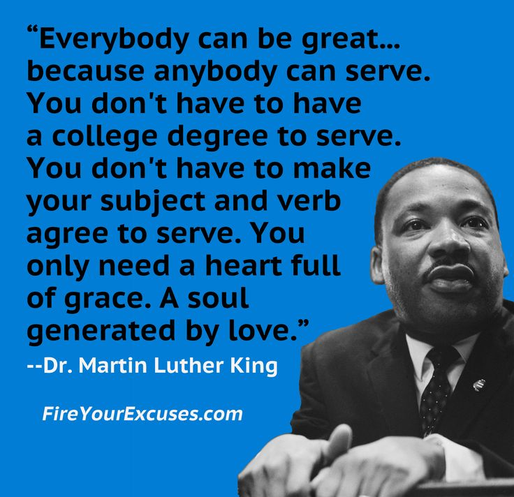Pax on both houses: Martin Luther King: Service, Greatness And ...