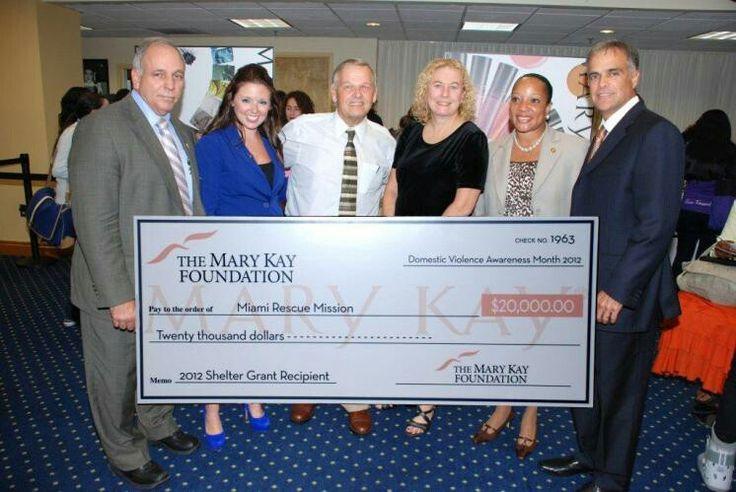 """""""Miami Rescue Mission"""" $20,000.00"""
