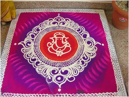 Top 10 Rangoli Designs Without Dots