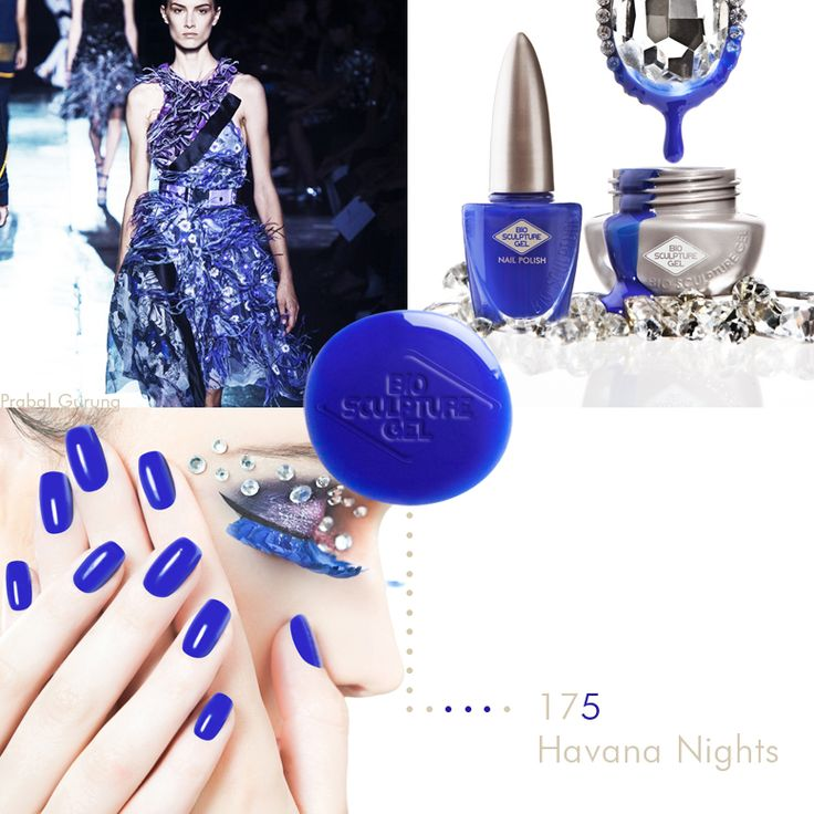 Bio Sculpture Gel Carnival nail collection #175 Havana Nights