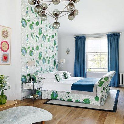 Carnival cloth bedroom