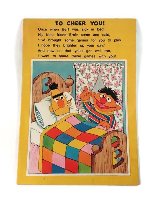 Vintage 1978 Muppets Sesame Street Bert Ernie Cookie