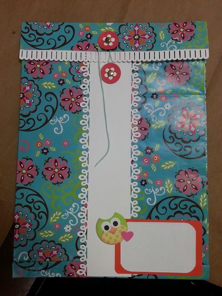 Decoraci n con forro de papel ideas para decorar carpetas o folders pinterest - Cosas para decorar ...