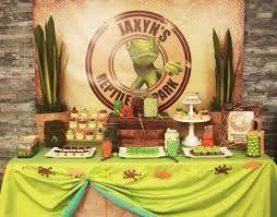 reptile party ideas - Google Search