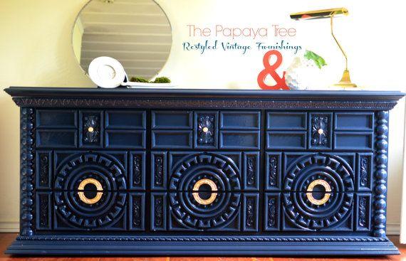Chalk Painted Ornate Mdf Furniture