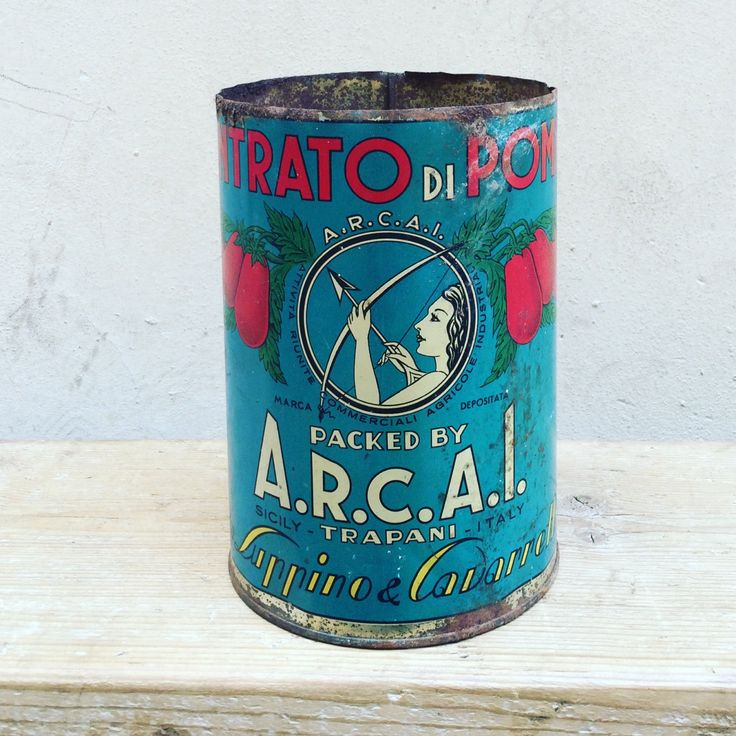 Italy, Summer, Tomato! Confezione concentrato di pomodoro A.R.C.A. di UbFirenze  su Etsy info@ubfirenza.it