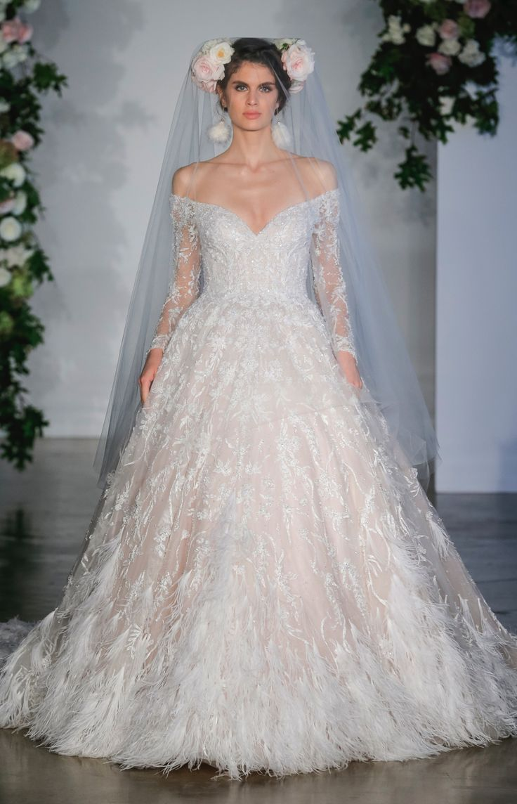 Vintage pearl bridal blog real brides news amp updates wedding - The Key 2018 Wedding Dress Trends From New York Bridal Fashion Week