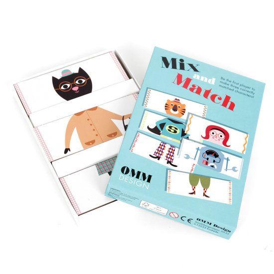 Kartenspiele - Mix and Match Spiel von Ingela P Arrhenius - ein Designerstück von petit_mouton bei DaWanda