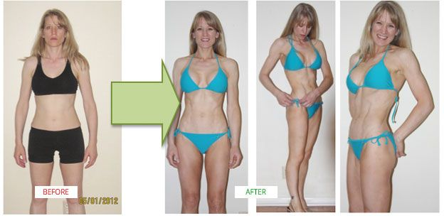 She's 45 years old, and used the Amazing Abs Solution to shed 9.8% of her body fat and sculpt a sex six-pack... without doing a single sit-up!
